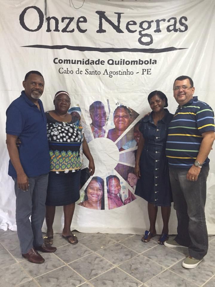 Deputado Ossesio Silva visita Comunidade Quilombola