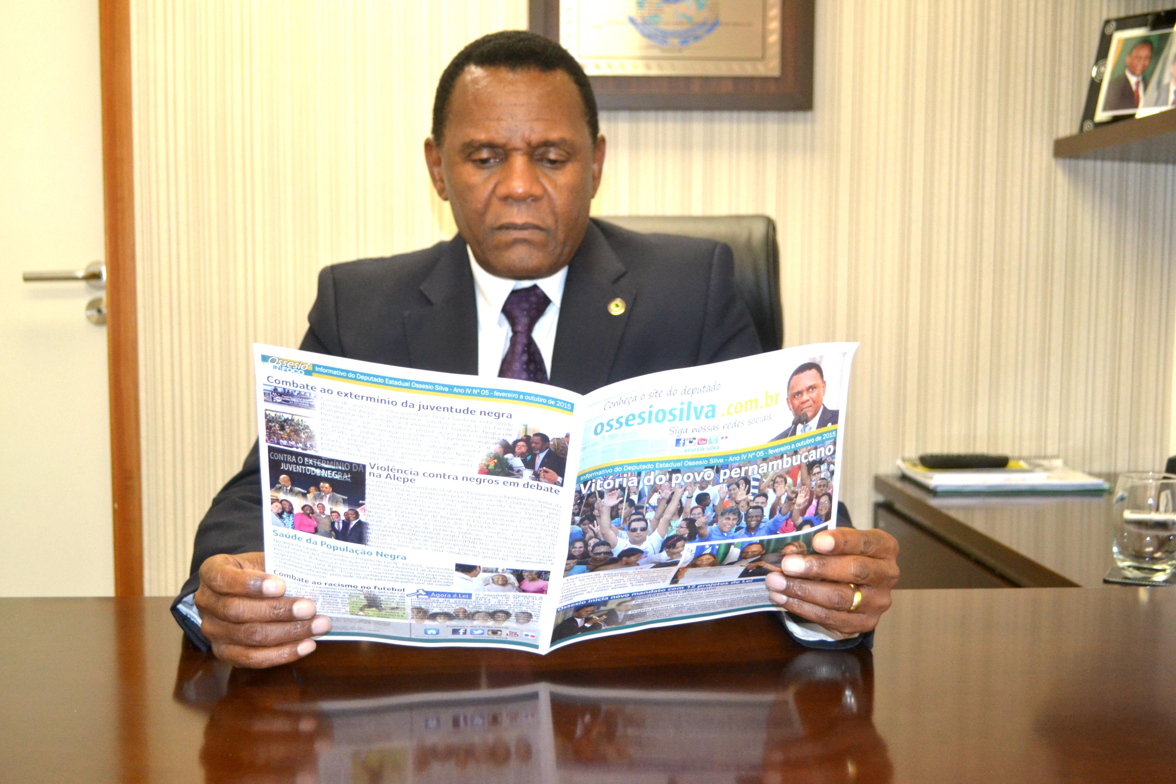 Ossesio lança 5º edição do informativo