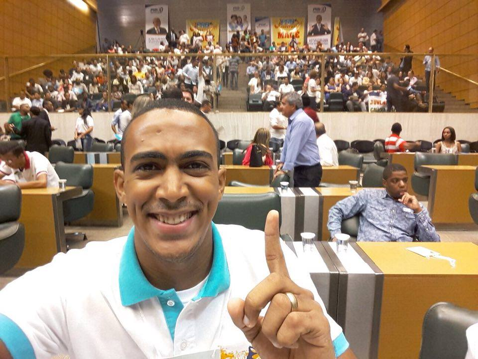 Coordenador do PRB Juventude- PE participa da Congresso Nacional do partido