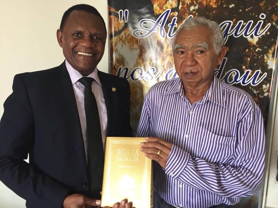 Título de Cidadão – Ossesio homenageia pastor Benedito