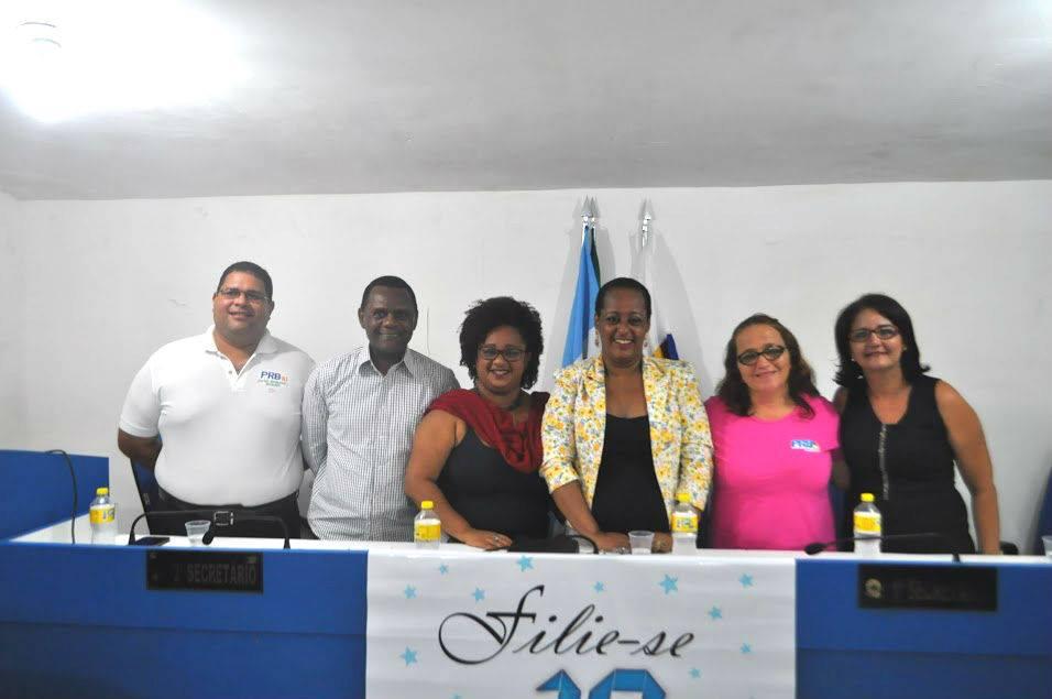Ossesio participa de posse do PRB Mulher em Camaragibe