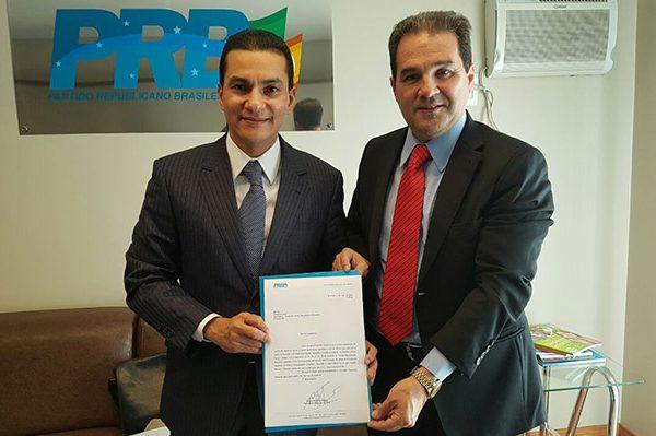 Ex-senador Eduardo Lopes assume Presidência Nacional e afirma que nada muda no PRB