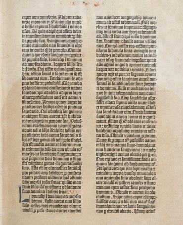 Primeira Bíblia impressa é disponibilizada on-line