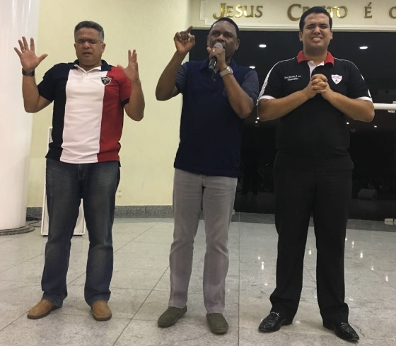 Bispos Ossesio Silva e William Brigido participam do Conexão FJU em Família