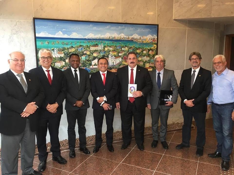 Deputado Ossesio acompanha visita do cônsul da República da Guatemala no Brasil