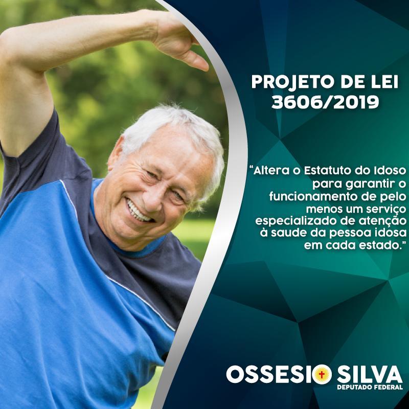 Deputado Ossesio Silva quer serviço médico especializado para terceira idade