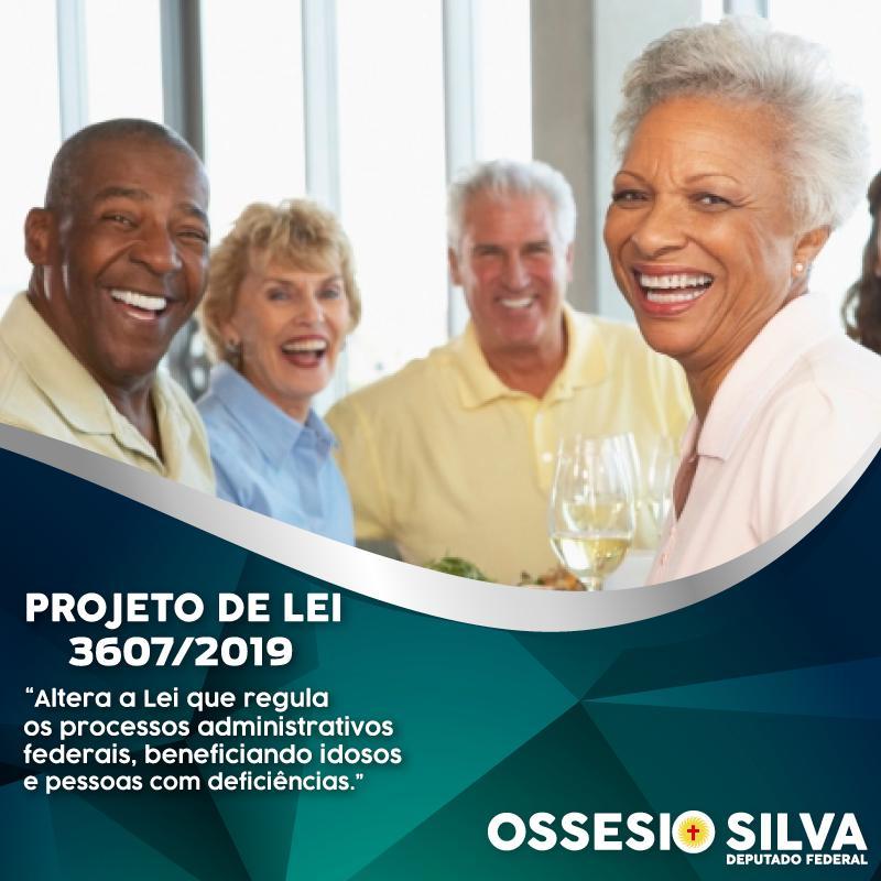 Ossesio Silva tem projeto para beneficiar terceira idade e pessoas com deficiência