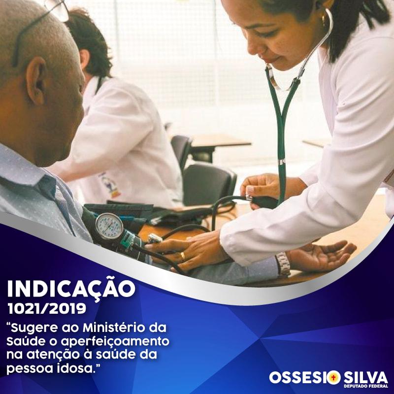 Deputado Ossesio Silva pede ao Poder Executivo melhor atenção à saúde do idoso