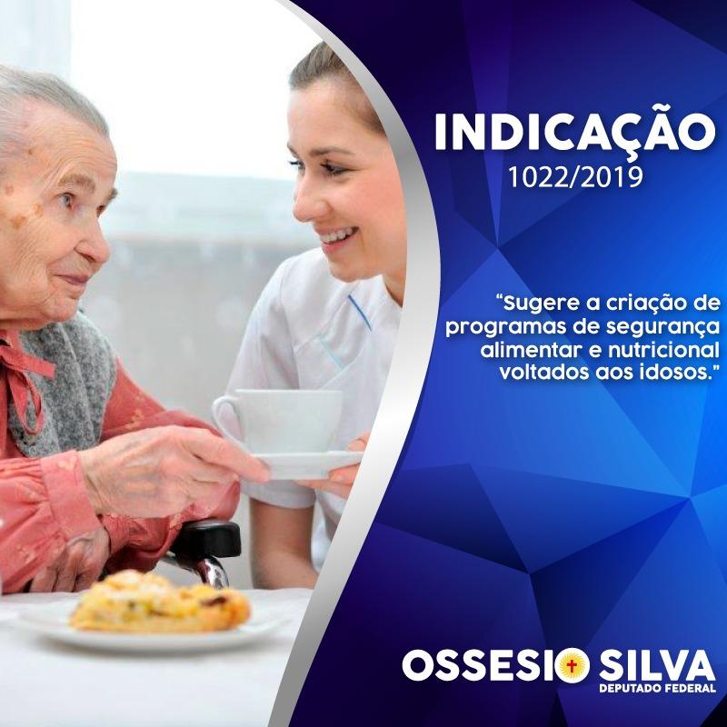 Ossesio Silva quer segurança alimentar para quem tem 60 anos ou mais