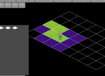 L'éditeur de niveaux, conçu par le programmeur.