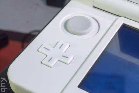 Le Circle Pad et la Crois directionnelle de la New 3DS