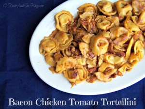 Bacon Chicken Tomato Tortellini