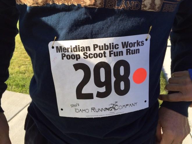 poop scoot fun run registration number