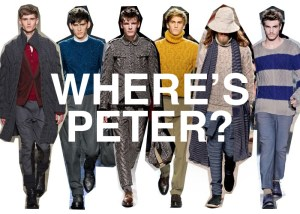 Where's Peter (poster image) - Richard Healy