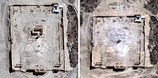 Palmyra, destroyed