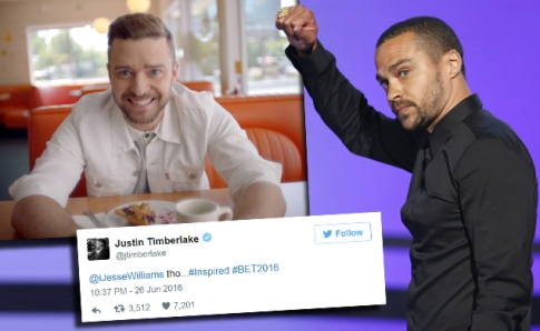 Jesse Williams Justin