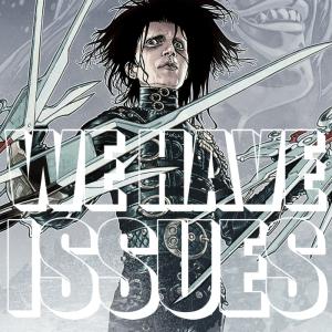 whi05 - Edward Scissorhands #1 cover by Gabriel Rodriguez