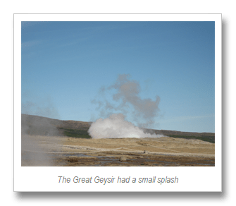 The Great Geysir andGullfoss (2/3)