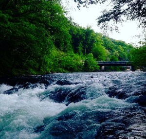 Nantahala River in April