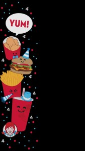 Snapchat Filters - Wendy's Yum Four For Four New Years Filter