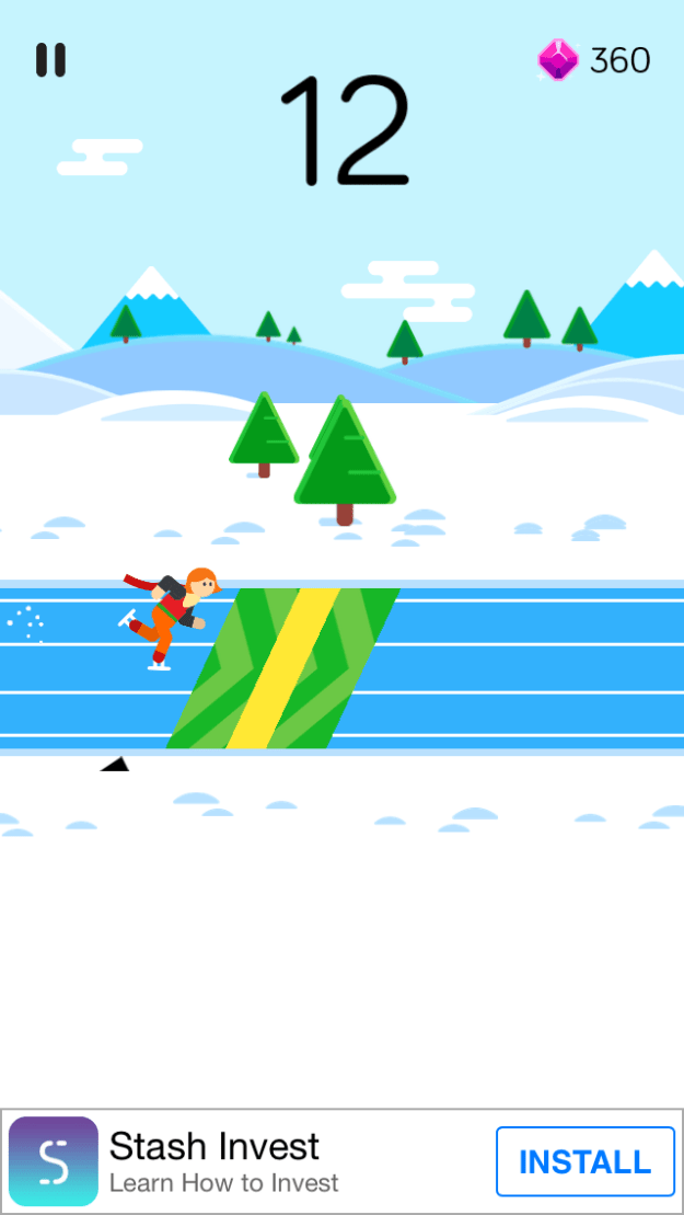 How to Get a Higher score in  Winter Sports Game For iPhone - Winter Games Tips and Strategies
