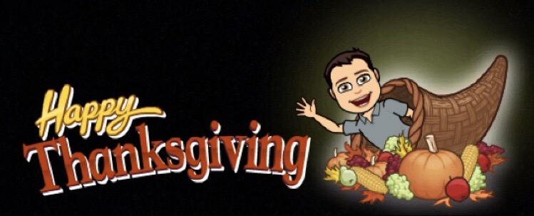 Bitmoji Thanksgiving Snapchat Filter 2017