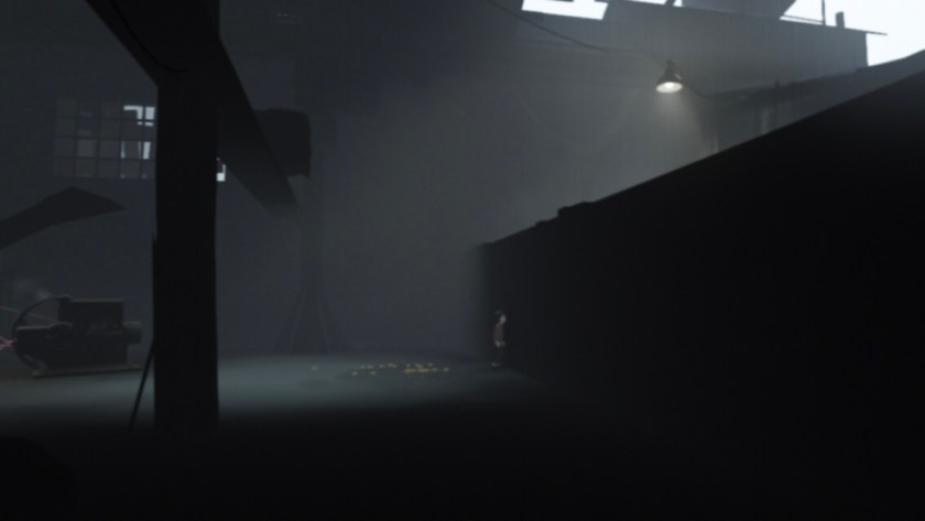 How to Get Over The Big Wall in The Warehouse in Playdead's INSIDE? Hints/ Answers
