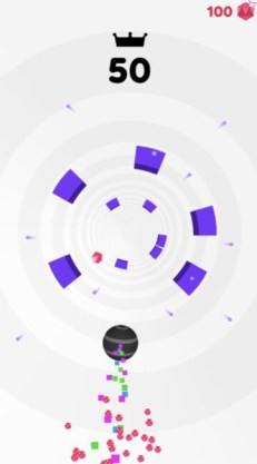 What is The Highest Score in The Mobile Game Rolly Vortex?