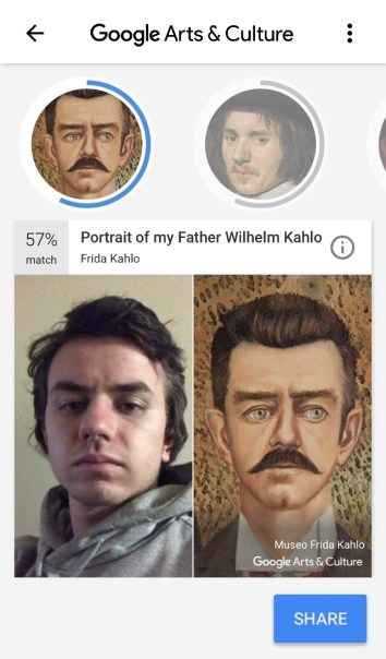 How to Use Pictures From Your Gallery on The Google Arts & Culture Face Match App