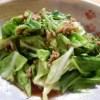 [レシピ]春キャベツの肉味噌炒めの作り方