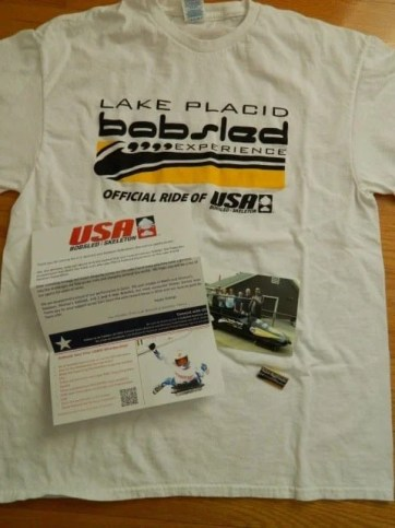 Lake Placid Bobsleigh Experience Rewards