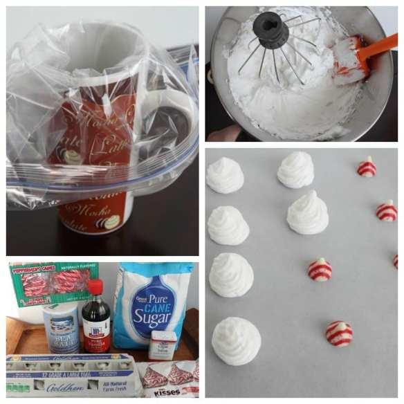 Peppermint Meringue Cookies Ingredients