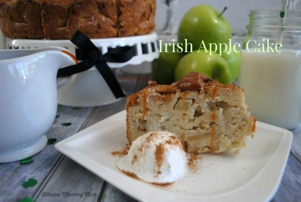 Irish Apple Cake Recipe