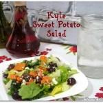 Kale Sweet Potato Salad Recipe