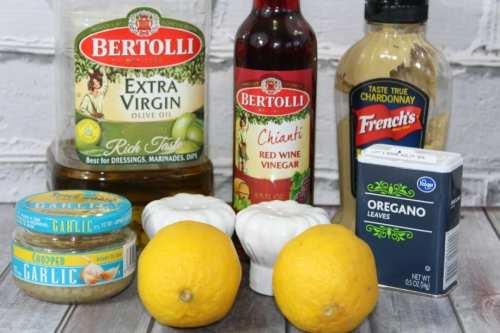 Lemon Vin. ingred 1