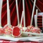 Canada Day Red Velvet Cake Pops Recipe