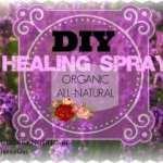 DIY Healing Spray