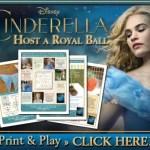 Cinderella Host A Royal Ball Activity Sheets