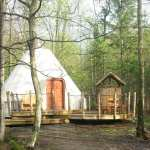 Glamping at Parc Omega #OutaouaisFun
