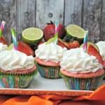 Strawberry Margarita Cupcake with Liquor Recipe