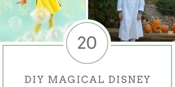 20 DIY Magical Disney Costumes for Kids and Adults