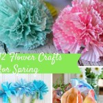 12 Flower Crafts for Spring
