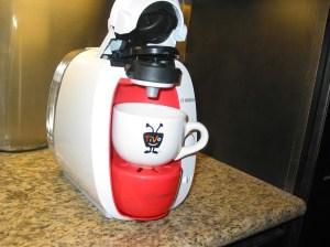 Brewbot with my Tivo mug