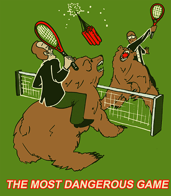 The Most Dangerous Game - Grizzly Boom Tennis
