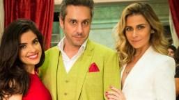 Vanessa Giacomo , Alexandre Nero e Giovanna Antonelli (Foto: Globo/João Miguel Júnior)