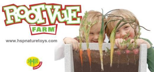 夏休みの自由研究に!野菜が育つ様子を観察できる栽培キット「Rootvue Farm」