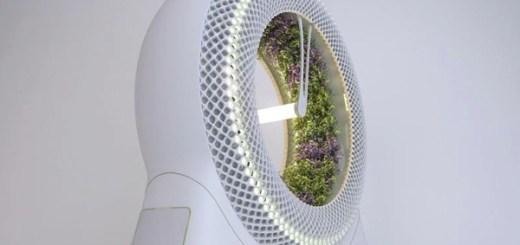 この菜園、回転します。NASAが考案した栽培システムをミラノのデザイナーがおしゃれに!