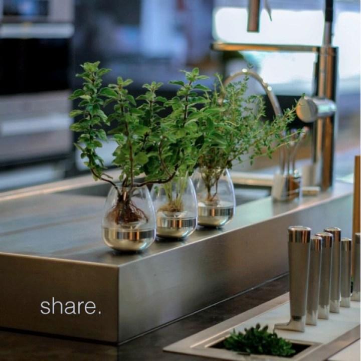 キッチンから広がるハーブの物々交換。持ち運び型プランター付き栽培キット「Pod」