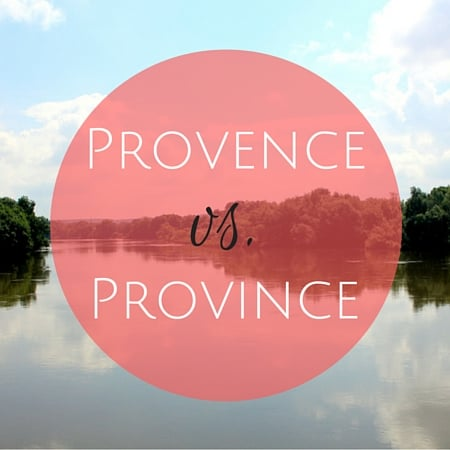 difference between provence and province