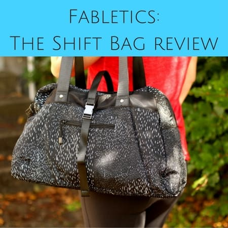 Fabletics The Shift Bag review